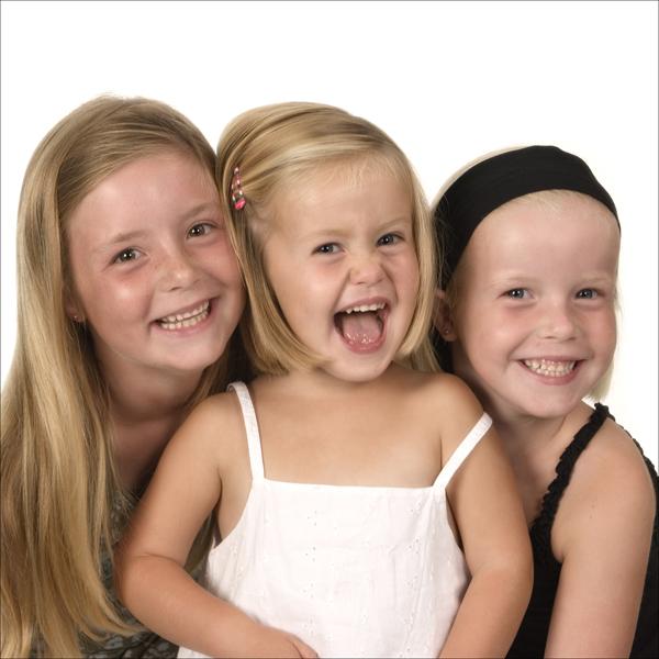 fotoshoot van de kinderen