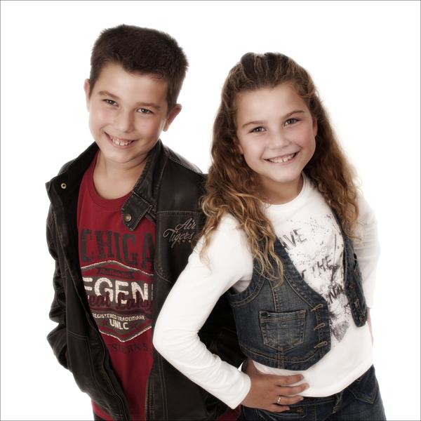 foto van de kinderen