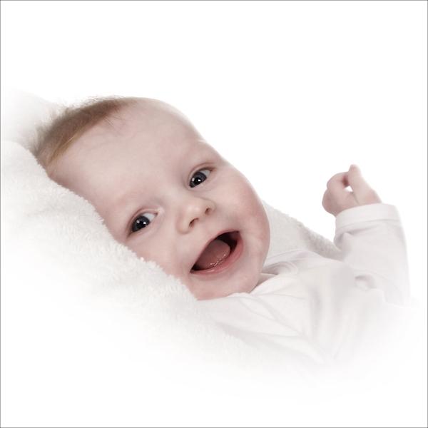 win een baby fotoshoot portretfoto in de studio